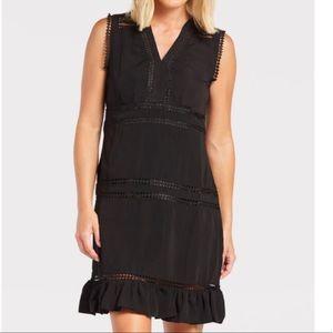 Allison Joy Haven Black Lace Accent Dress